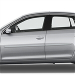 Volkswagen Jetta Painted Body Side Moldings, 2005, 2006, 2007, 2008, 2009, 2010