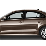 Volkswagen Jetta Painted Body Side Moldings, 2013, 2014, 2015, 2016, 2017, 2018