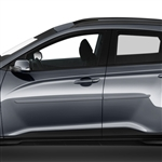 Hyundai Kona Painted Body Side Moldings, 2018, 2019