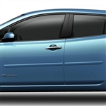 Nissan Leaf Painted Body Side Moldings, 2011, 2012, 2013, 2014, 2015, 2016, 2017