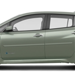 Nissan Leaf Painted Body Side Moldings, 2018, 2019, 2020