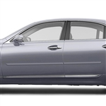 Lexus LS460 Painted Body Side Moldings, 2013, 2014, 2015, 2016, 2017