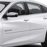Chevrolet Malibu Painted Body Side Moldings, 2016, 2017, 2018, 2019, 2020