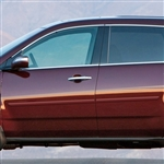 Acura MDX Painted Body Side Molding, 2007, 2008, 2009, 2010, 2011, 2012, 2013, 2014, 2015