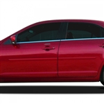 Lincoln MKZ Painted Body Side Moldings, 2007, 2008, 2009, 2010, 2011, 2012