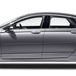 Lincoln MKZ Painted Body Side Moldings, 2013, 2014, 2015, 2016, 2017, 2018, 2019