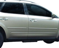 Nissan Murano Painted Body Side Molding, 2003, 2004, 2005, 2006, 2007