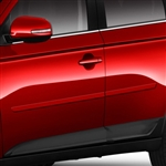 Mitsubishi Outlander Painted Body Side Moldings, 2013, 2014, 2015, 2016, 2017, 2018, 2019