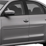 Volkswagen Passat Painted Body Side Moldings, 2012, 2013, 2014, 2015, 2015, 2016, 2017, 2018