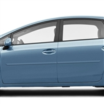 Toyota Prius V Painted Body Side Moldings, 2012, 2013, 2014, 2015, 2016, 2017, 2018