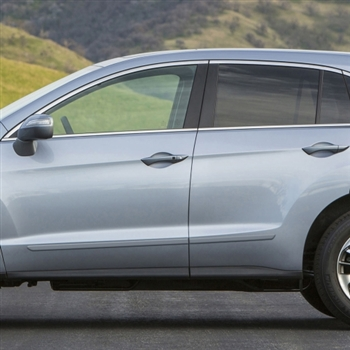 Acura RDX Painted Body Side Moldings, 2013, 2014, 2015, 2016, 2017, 2018