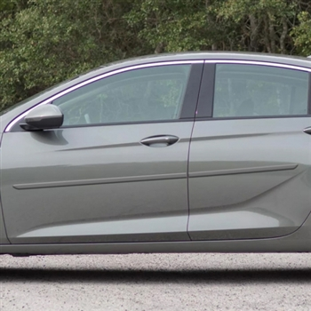Buick Regal Sportback Painted Body Side Moldings, 2018, 2019, 2020, 2021