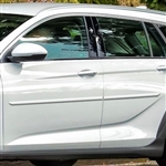 Buick Regal TourX Painted Body Side Moldings, 2018, 2019, 2020