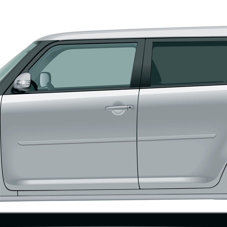 312 Motoring fits 2007-2012 Scion XB Chrome ROOF Trim MOLDINGS 2PC 2008 2009 2010 2011 07 08 09 10 11 12