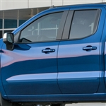 Chevrolet Silverado Painted Body Side Moldings, 2019, 2020