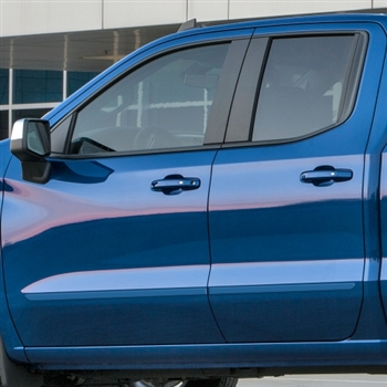Chevrolet Silverado Painted Body Side Moldings, 2019