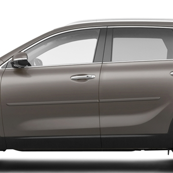 Kia Sorento Painted Body Side Moldings, 2016, 2017, 2018, 2019
