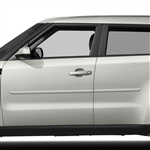 Kia Soul Painted Body Side Moldings, 2014, 2015, 2016, 2017, 2018, 2019, 2020