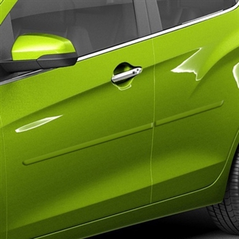 Chevrolet Spark Painted Body Side Moldings, 2016, 2017, 2018, 2019, 2020, 2021