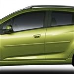Chevrolet Spark Painted Body Side Moldings, 2013, 2014, 2015, 2016, 2017