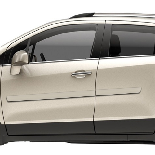 Chevrolet Trax Painted Body Side Moldings 2015 2016