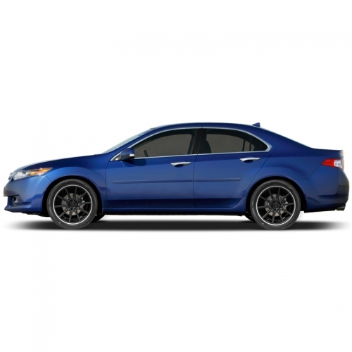 Acura TSX Painted Body Side Moldings, 2009, 2010, 2011