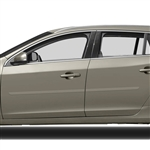 Volvo V60 Painted Body Side Moldings, 2010, 2011, 2012, 2013, 2014, 2015, 2016