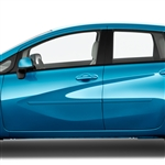 Nissan Versa Note Painted Body Side Moldings, 2014, 2015, 2016, 2017, 2018, 2019