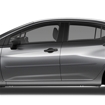 Nissan Versa Painted Body Side Moldings, 2020, 2021