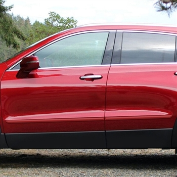 Cadillac XT4 Painted Body Side Moldings, 2019, 2020, 2021