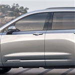 Cadillac XT6 Painted Body Side Moldings, 2020, 2021, 2022