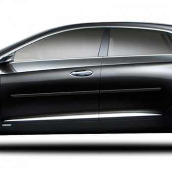 Cadillac XTS Painted Body Side Molding, 2013, 2014, 2015, 2016, 2017, 2018, 2019