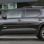 GMC Acadia Painted Body Side Moldings, 2017, 2018, 2019, 2020