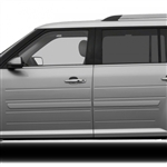 Ford Flex Painted Body Side Moldings, 2009, 2010, 2011, 2012, 2013, 2014, 2015, 2016, 2017, 2018, 2019