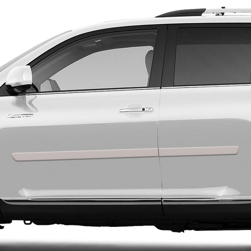 Toyota Highlander Painted Body Side Moldings 2008 2009