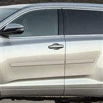 Toyota Highlander Painted Body Side Moldings, 2014, 2015, 2016, 2017, 2018, 2019