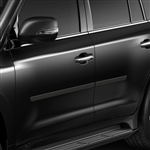 Lexus LX Painted Body Side Moldings, 2015, 2016, 2017, 2018, 2019, 2020