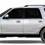 Lincoln Navigator Painted Body Side Moldings, 2015, 2016, 2017