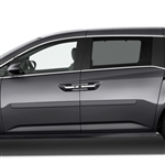 Honda Odyssey Painted Body Side Moldings, 2011, 2012, 2013, 2014, 2015, 2016, 2017