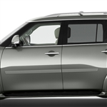Infiniti QX80 Painted Body Side Moldings, 2014, 2015, 2016, 2017, 2018, 2019