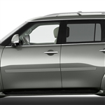 Nissan Armada Painted Body Side Moldings, 2016, 2017, 2018, 2019, 2020