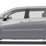 Nissan Quest Painted Body Side Moldings, 2011, 2012, 2013, 2014, 2015, 2016, 2017