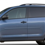 Toyota Rav4 Painted Body Side Moldings, 2006, 2007, 2008, 2009, 2010, 2011, 2012