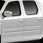 Honda Ridgeline Painted Body Side Moldings, 2006, 2007, 2008, 2009, 2010, 2011, 2012, 2013, 2014