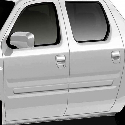 Honda Ridgeline Painted Body Side Moldings, 2006, 2007, 2008, 2009, 2010