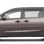 Kia Sedona Painted Body Side Moldings, 2015, 2016, 2017, 2018, 2019, 2020