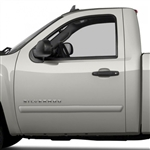 GMC Sierra Painted Body Side Moldings, 2007, 2008, 2009, 2010, 2011, 2012, 2013