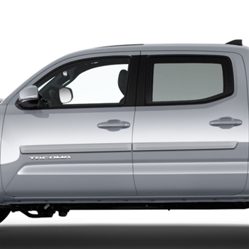 Toyota Tacoma Middle Door Painted Body Side Moldings, 2005, 2006, 2007, 2008, 2009, 2010, 2011, 2012, 2013, 2014, 2015, 2016, 2017, 2018, 2019