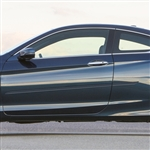 Honda Accord Coupe Painted Body Side Moldings (beveled design), 2013, 2014, 2015, 2016, 2017