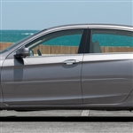 Honda Accord Sedan Painted Body Side Moldings (beveled design), 2013, 2014, 2015, 2016, 2017